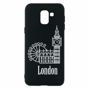 Etui na Samsung J6 Napis: London - PrintSalon