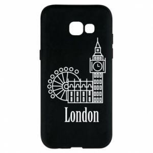 Etui na Samsung A5 2017 Napis: London - PrintSalon