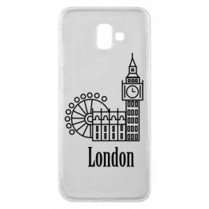 Etui na Samsung J6 Plus 2018 Napis: London - PrintSalon