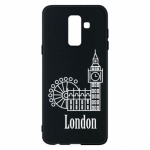 Samsung A6+ 2018 Case Inscription: London