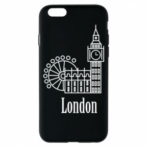 Phone case for iPhone 6/6S Inscription: London