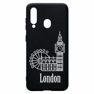 Etui na Samsung A60 Napis: London - PrintSalon