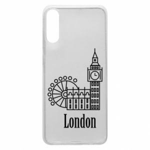 Etui na Samsung A70 Napis: London - PrintSalon
