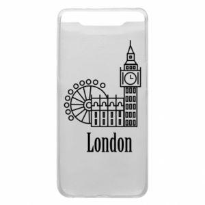 Etui na Samsung A80 Napis: London - PrintSalon