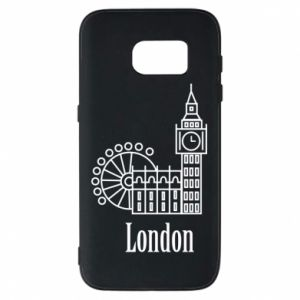 Phone case for Samsung S7 Inscription: London