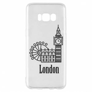 Phone case for Samsung S8 Inscription: London
