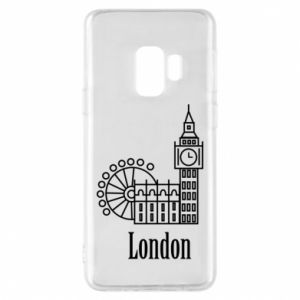 Phone case for Samsung S9 Inscription: London