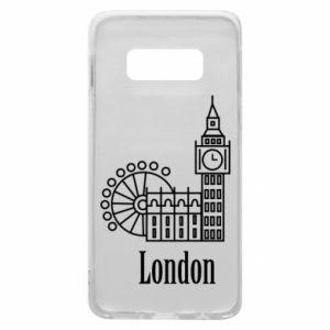 Etui na Samsung S10e Napis: London - PrintSalon