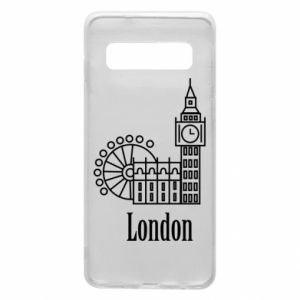 Phone case for Samsung S10 Inscription: London