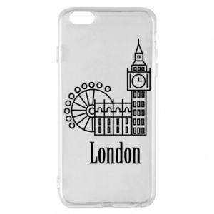 Etui na iPhone 6 Plus/6S Plus Napis: London - PrintSalon