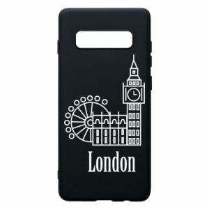 Phone case for Samsung S10+ Inscription: London