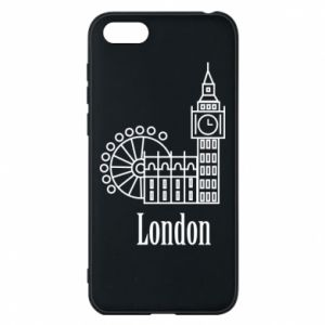 Phone case for Huawei Y5 2018 Inscription: London