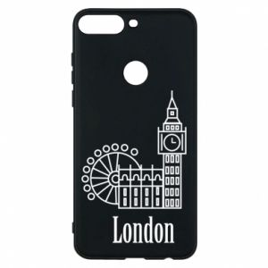 Phone case for Huawei Y7 Prime 2018 Inscription: London