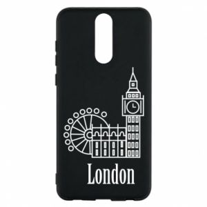 Phone case for Huawei Mate 10 Lite Inscription: London
