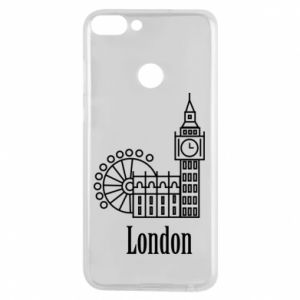 Phone case for Huawei P Smart Inscription: London