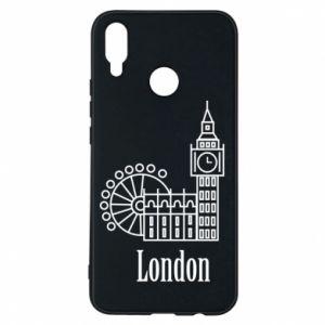 Etui na Huawei P Smart Plus Napis: London - PrintSalon