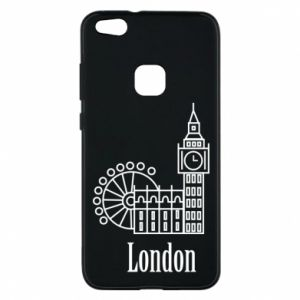Phone case for Huawei P10 Lite Inscription: London