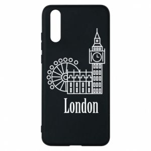 Phone case for Huawei P20 Inscription: London