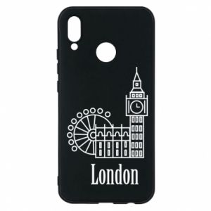 Phone case for Huawei P20 Lite Inscription: London