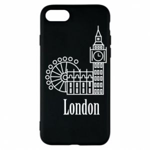 Phone case for iPhone 7 Inscription: London