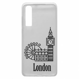 Phone case for Huawei P30 Inscription: London