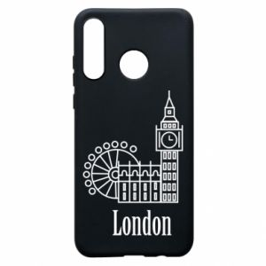 Phone case for Huawei P30 Lite Inscription: London