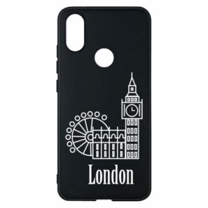 Etui na Xiaomi Mi A2 Napis: London - PrintSalon