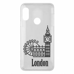 Mi A2 Lite Case Inscription: London