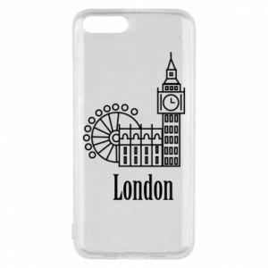 Etui na Xiaomi Mi6 Napis: London - PrintSalon
