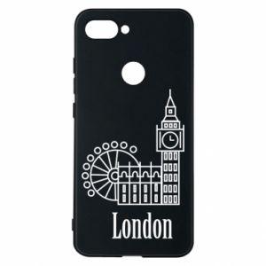 Etui na Xiaomi Mi8 Lite Napis: London - PrintSalon