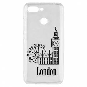 Etui na Xiaomi Redmi 6 Napis: London - PrintSalon