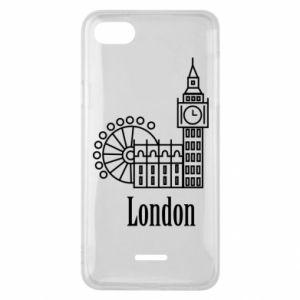 Etui na Xiaomi Redmi 6A Napis: London - PrintSalon