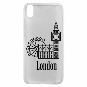 Etui na Xiaomi Redmi 7A Napis: London - PrintSalon