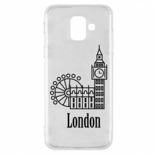 Samsung A6 2018 Case Inscription: London