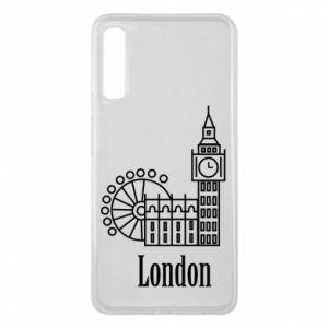 Etui na Samsung A7 2018 Napis: London - PrintSalon