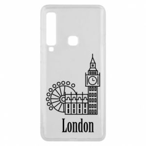 Etui na Samsung A9 2018 Napis: London - PrintSalon