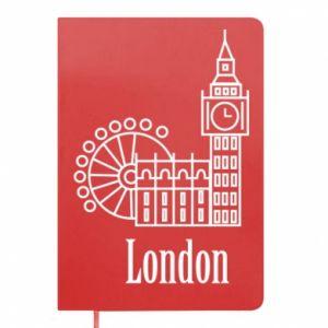 Notepad Inscription: London