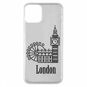 Phone case for iPhone 11 Inscription: London