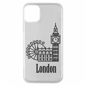 Phone case for iPhone 11 Pro Inscription: London