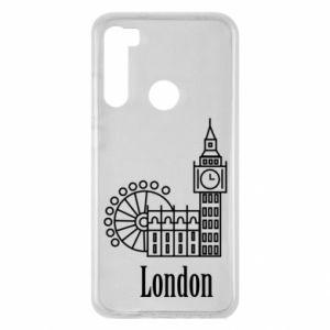 Xiaomi Redmi Note 8 Case Inscription: London