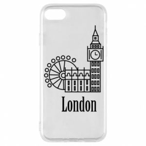 Phone case for iPhone 8 Inscription: London