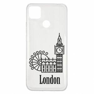Xiaomi Redmi 9c Case Inscription: London