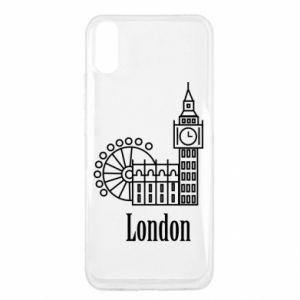 Xiaomi Redmi 9a Case Inscription: London