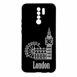 Xiaomi Redmi 9 Case Inscription: London
