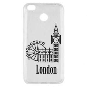 Xiaomi Redmi 4X Case Inscription: London