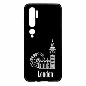 Xiaomi Mi Note 10 Case Inscription: London