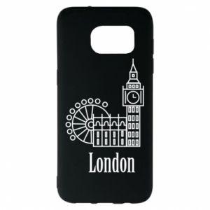 Samsung S7 EDGE Case Inscription: London