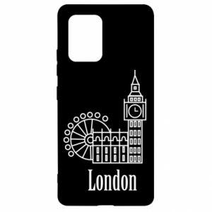 Samsung S10 Lite Case Inscription: London