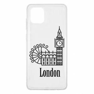 Samsung Note 10 Lite Case Inscription: London