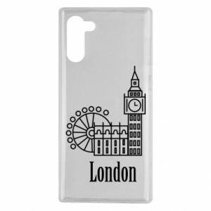 Samsung Note 10 Case Inscription: London